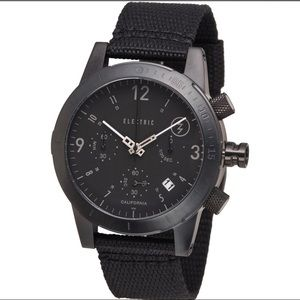 Electric Fw 02 NATO strap dive watch black jpn mov